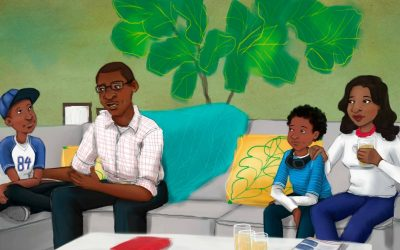 How a new children's book is helping Black families discuss police encounters.