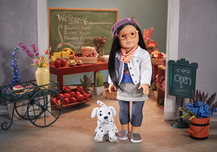 The first Korean-American doll from American Girl