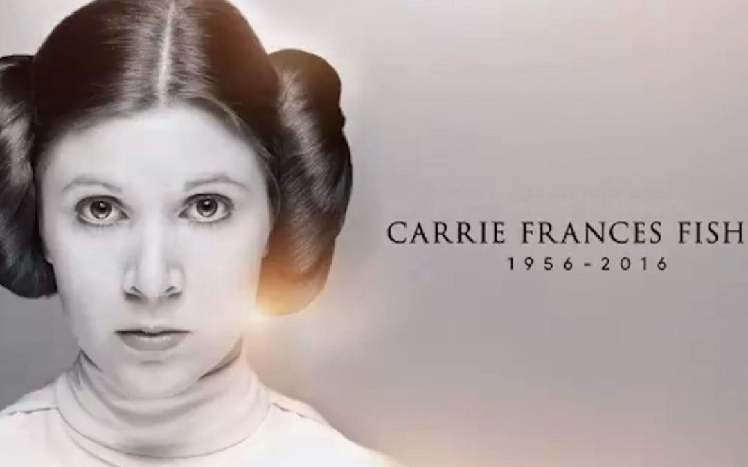 Web coolness: A tribute to Carrie Fisher (sniff), an upcoming March for Moms, and research that may explain lots of marital tensions