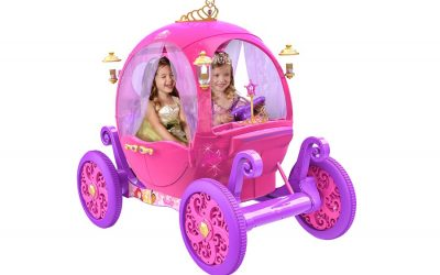 How your princess can win her own set of wheels! White horses not included. | Sponsored Message