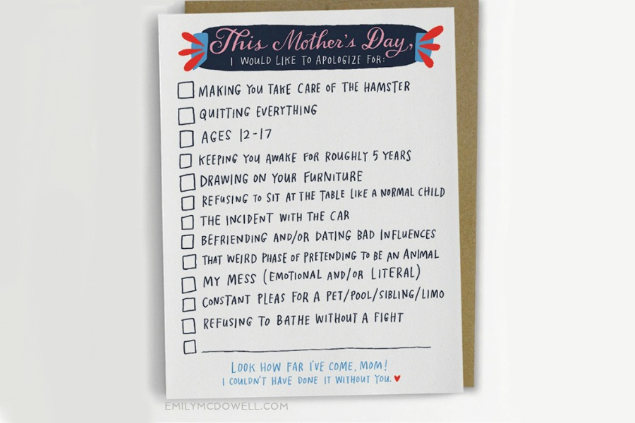 Web coolness: Funny Mother's Day cards, gift ideas for cool moms, American Girl's new leap, the best climate march signs