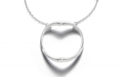 A Mother's Day necklace that will show you love her beyond the shadow of a doubt.