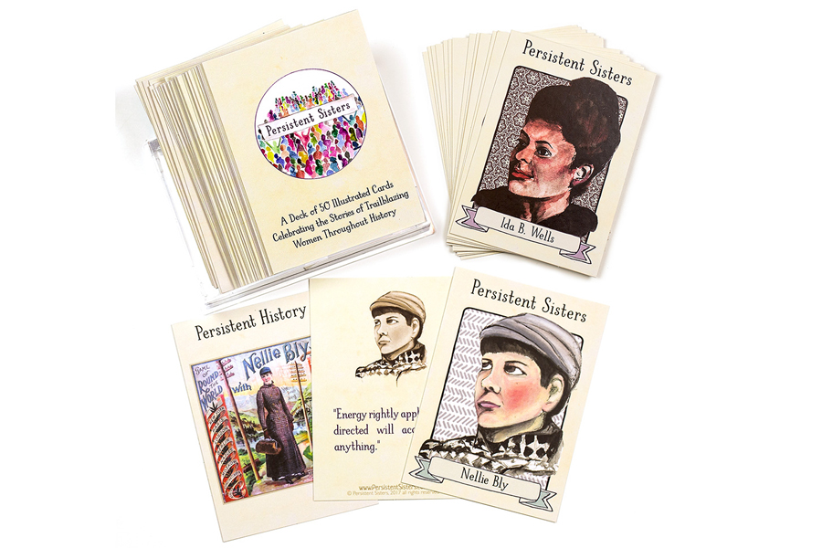 A new set of trading cards featuring badass women in history. Trust me, you need these.