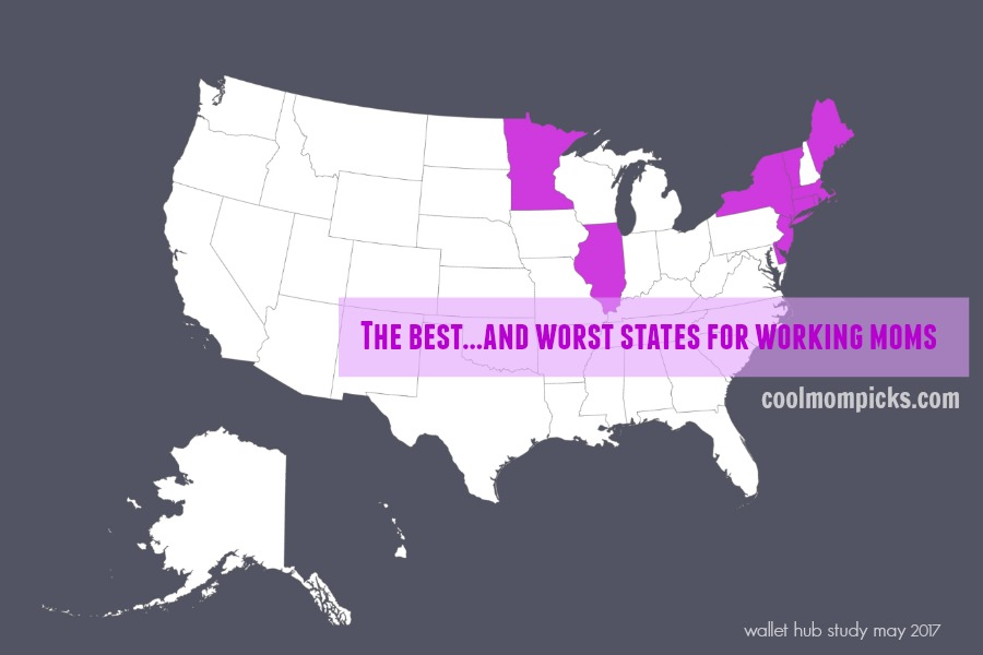 The best and worst states for working moms: A whole lot of surprises | Thinking: Parent