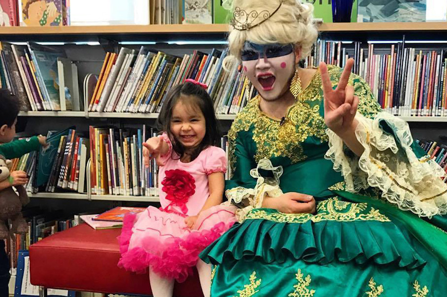 Drag Queen Story Hour. You know. For kids.