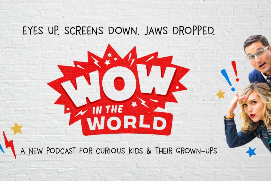 Great news! NPR is releasing their first-ever podcast for kids!