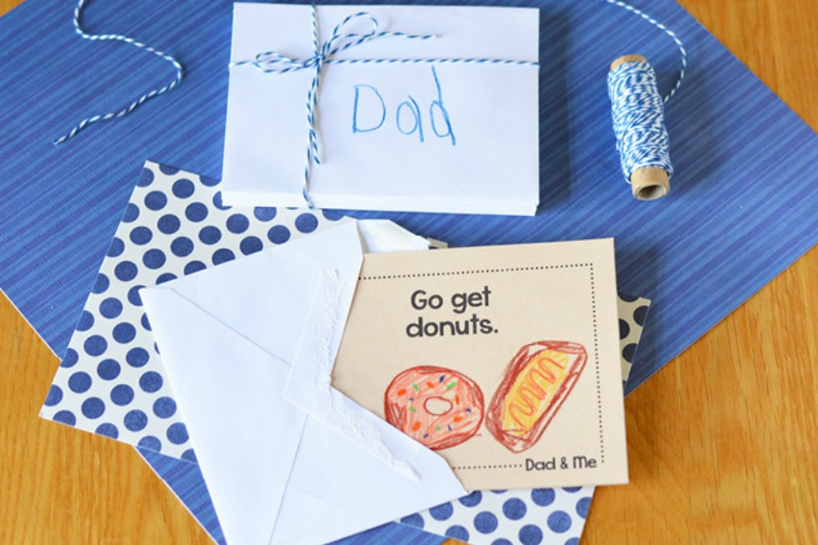 10 fantastic DIY Father's Day that kids can make themselves. Mostly. | Father's Day Gift Guide 2017