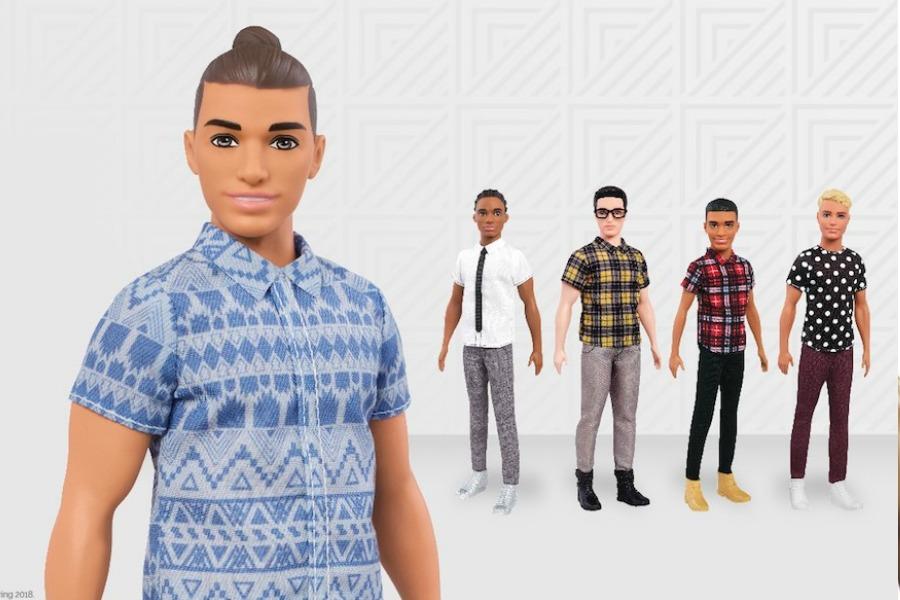 Next Gen Ken dolls new from Mattel offer 15 dolls in different skin tones, hair styles and body types | coolmompicks.com