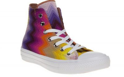 A stylish way to zig zag with your cool Chuck Taylors