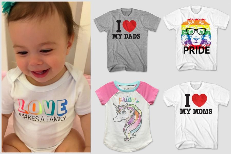 Target's new Pride tees for kids: Because love is love, and parents are parents