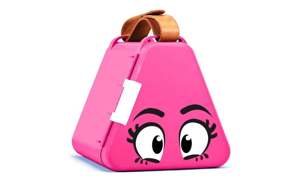 Teebee toy box for kids on the go. So smart! | coolmompicks.com