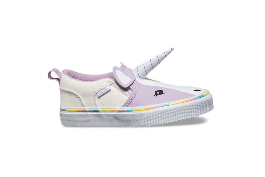 Unicorn Vans in big kid sizes! Join us in freaking out.