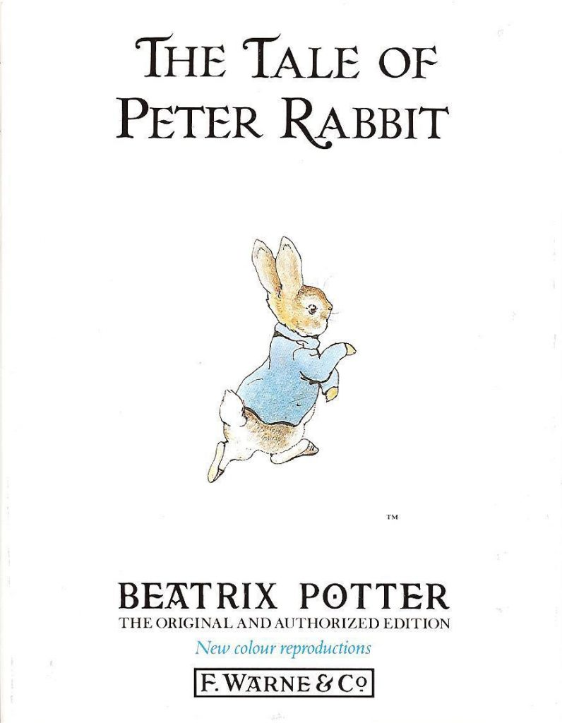 Children's books to read before they're made into movies: The Tale of Peter Rabbit by Beatrix Potter