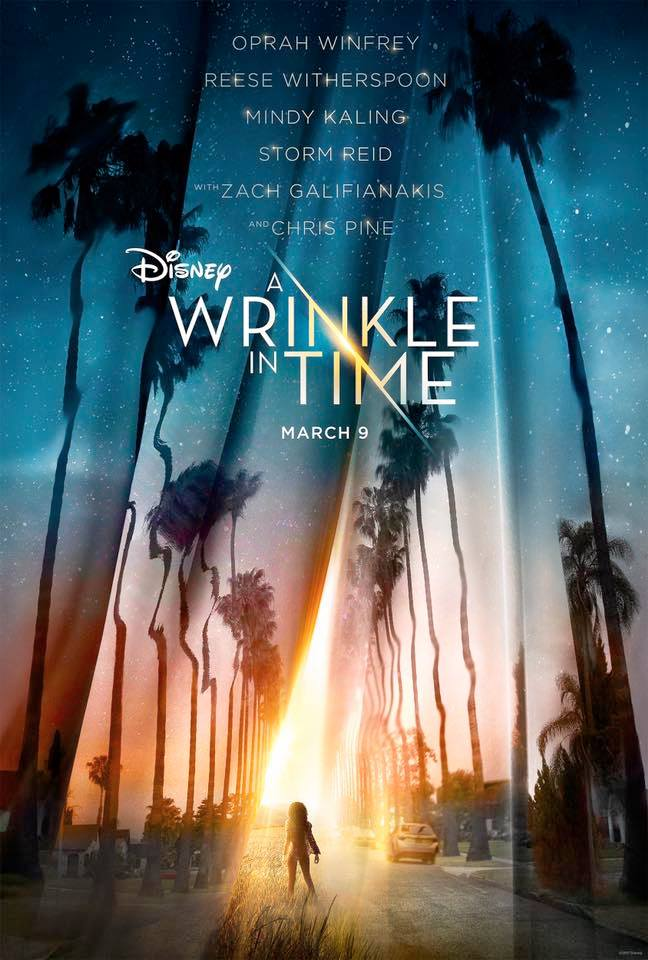 Children's books to read before they're made into movies: A Wrinkle in Time by by Madeleine L'Engle