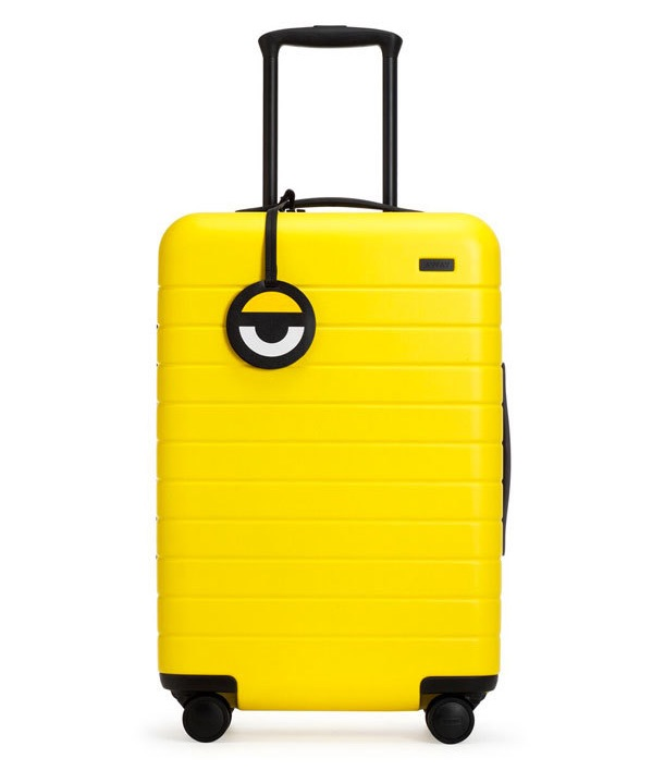 Cool kids' luggage: Minions by Away