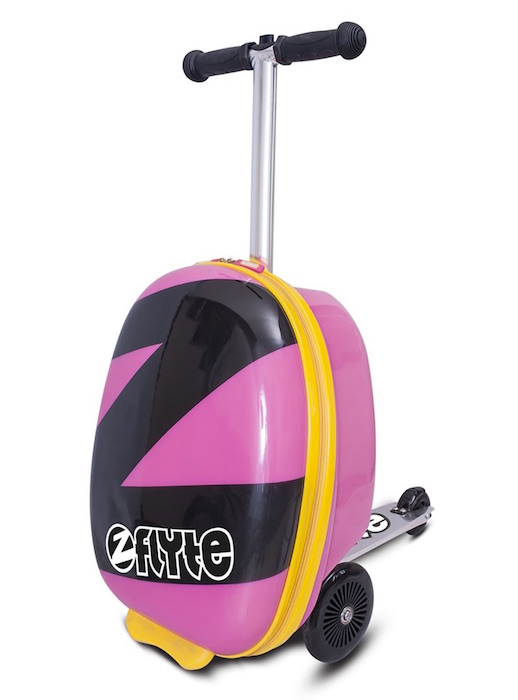 Cool kids' luggage: Power Pink by Zinc Flyte