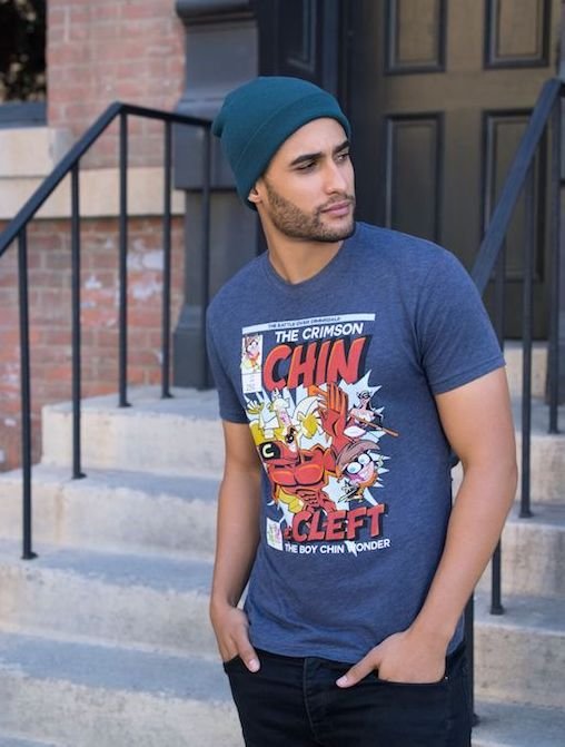 Retro nicktoons tees and accessories: Crimson Chin Cleft from Fairly Oddparents at BoxLunch | coolmompicks.com
