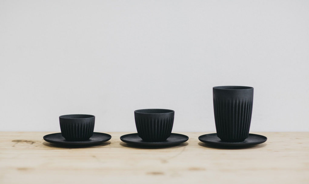 Huskeecup: a coffee cup made of coffee waste