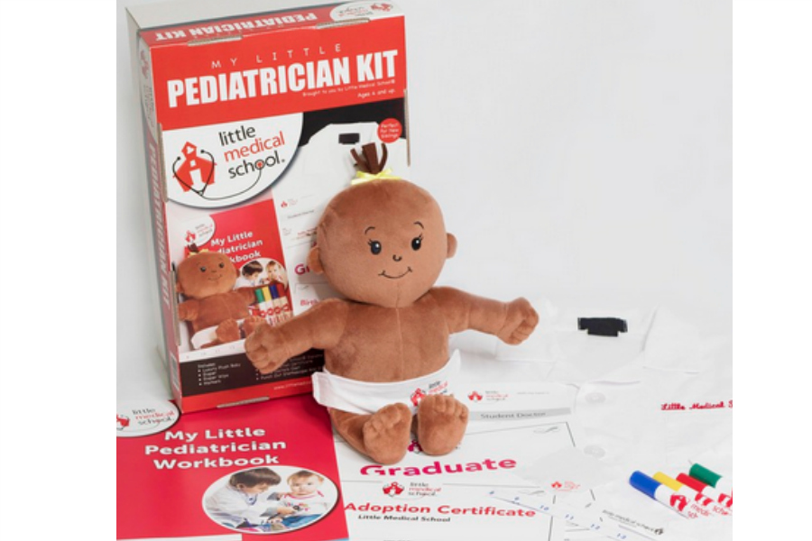 New play kits for kids make playing doctor a respectable endeavor