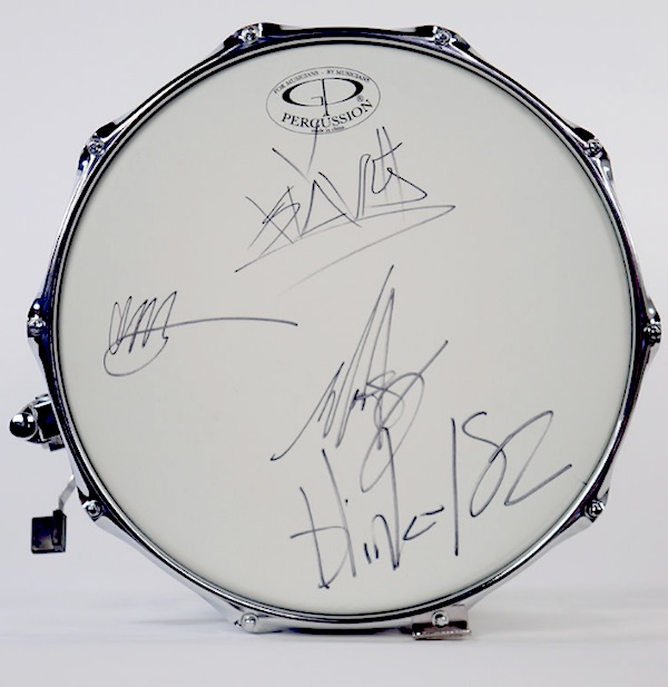 Music Gives St. Jude Kids: Blink-182 Drum