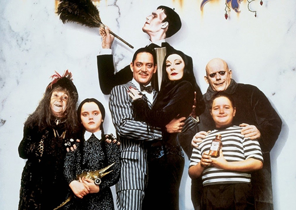 New on Netflix for families this month: The Addams Family (do do do doo, snap snap)