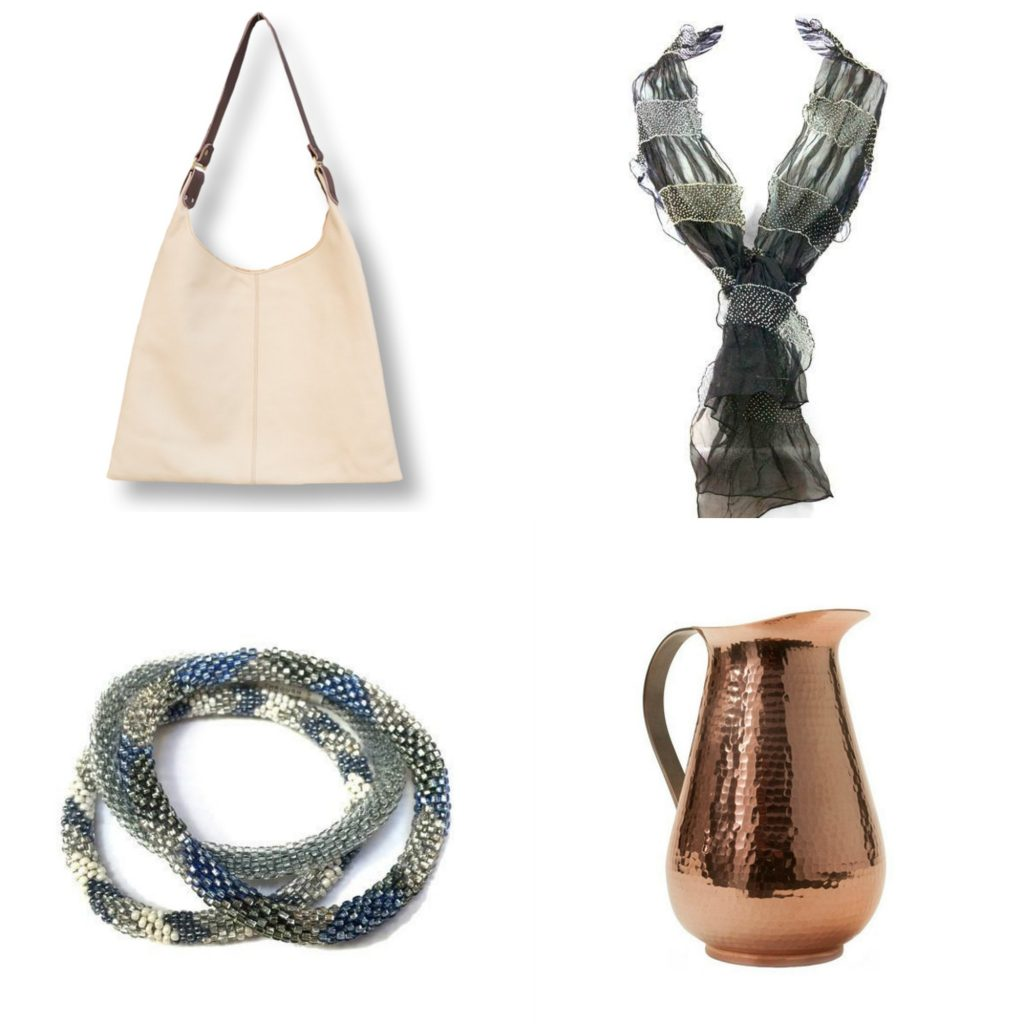 Gorgeous gifts that give back, accessories, housewares, baby gifts and more at Shopping for Change