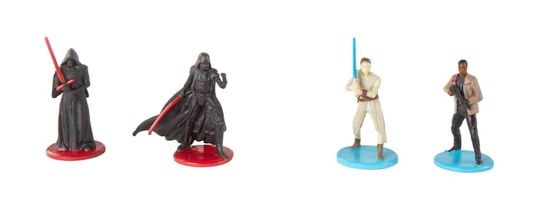 Star Wars: A Force Awakens Monopoly set with Rey token