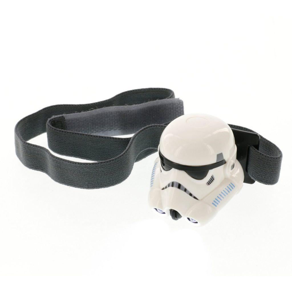 Star Wars Rebels Stormtrooper Kids Headlamp: An awesome, creative care package idea for kids at summer camp | coolmompicks.com