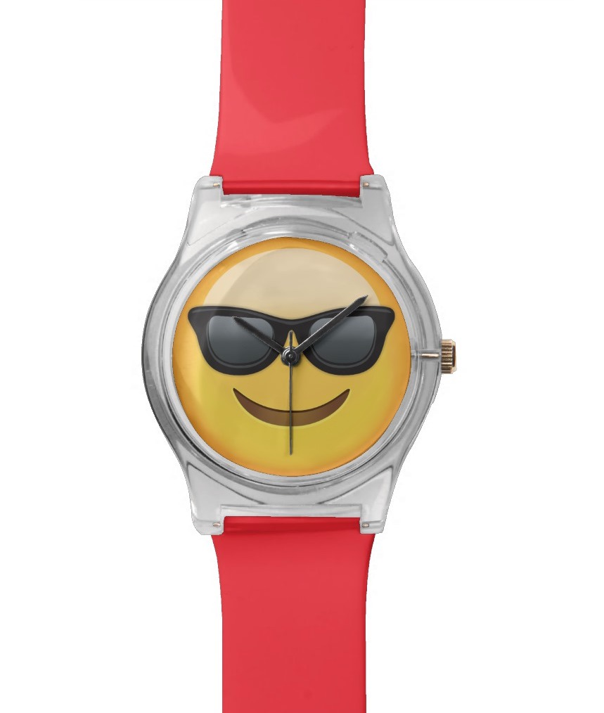 Sunglasses emoji watch: The coolest emoji gear and accessories for back to school | coolmompicks.com