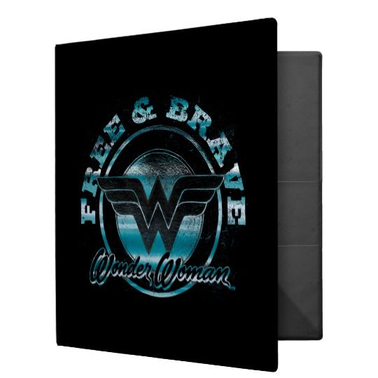 Wonder Woman Free and Brave Binder   | Cool Mom Picks Back to School Shopping Guide 2017
