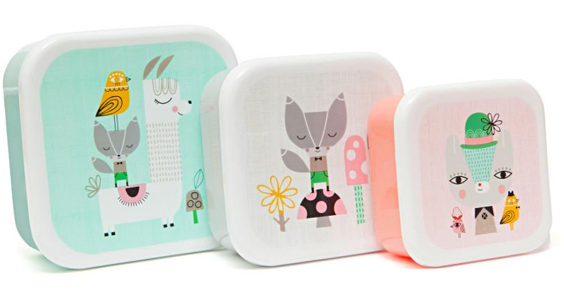 Llama Friends Lunchbox Container Set | Cutest Animal School Supplies | back to school shopping 2017