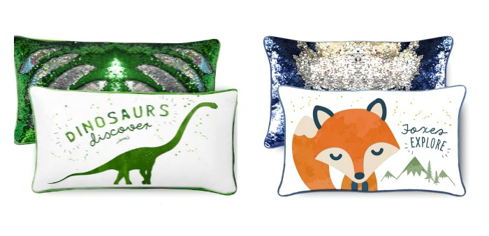Help for kids anxious about going back to school: Mermaid Pillow Company Positivity Pillows