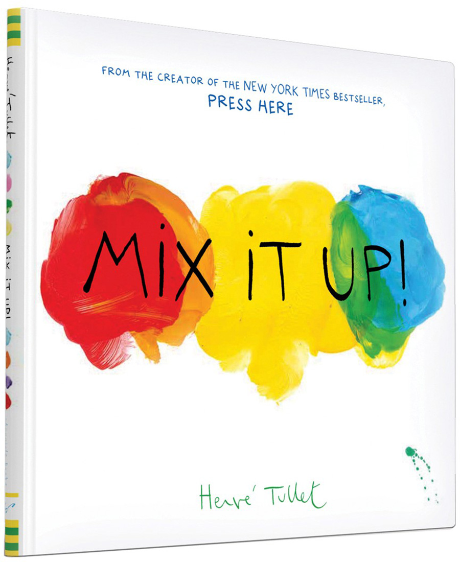 Birthday gift ideas for preschoolers under $15: Mix it Up by Herve Tullet