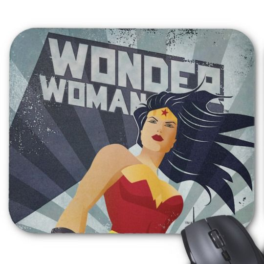 Wonder Woman Mouse Pad   | Cool Mom Picks Back to School Shopping Guide 2017