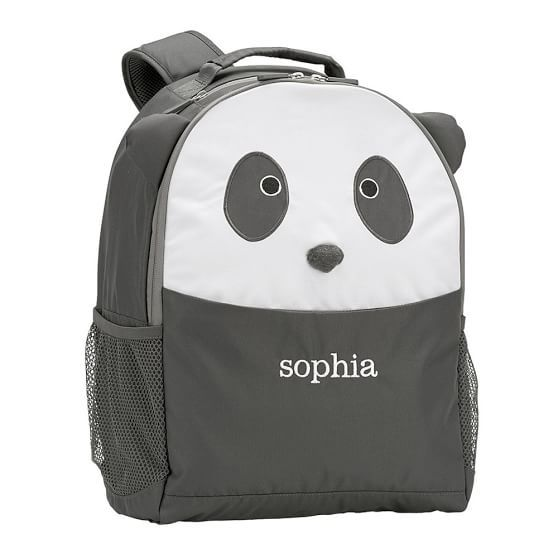 Personalized WWF Panda Backpack | Cutest Animal School Supplies | back to school shopping 2017