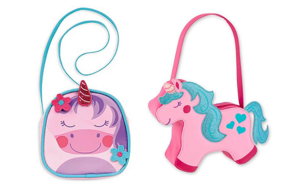 Stephen Joseph unicorn purse collection for little girls