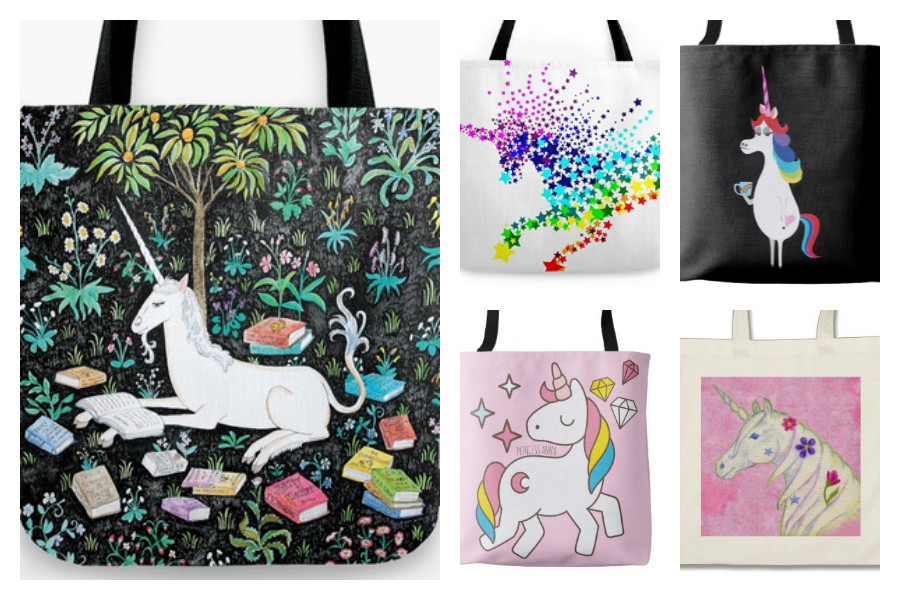 Some of our favorite unicorn totes from artists around the web | coolmompicks.com