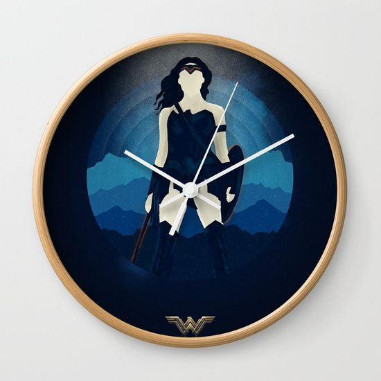 Wonder Woman Save the World Wall Clock   | Cool Mom Picks Back to School Shopping Guide 2017