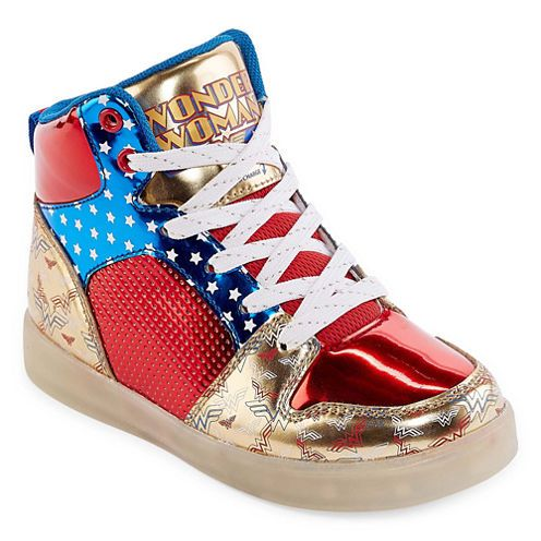 Wonder Woman Girls' Sneakers |  Cool Mom Picks Back to School Shopping Guide 2017
