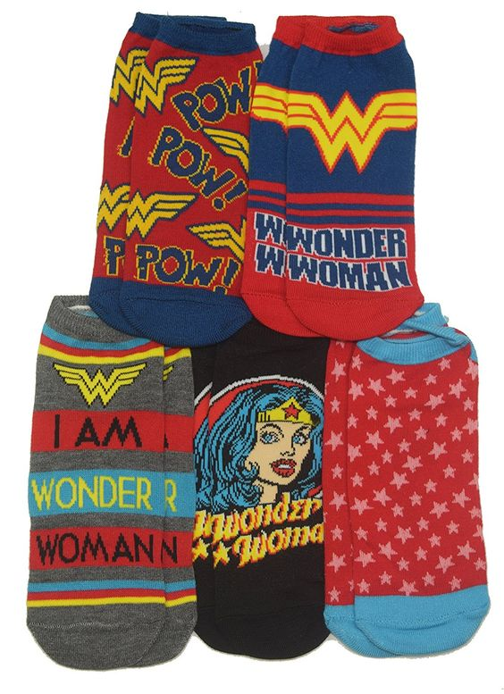 Wonder Woman Ankle Socks  | Cool Mom Picks Back to School Shopping Guide 2017