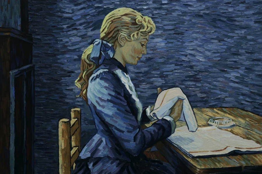 Loving Vincent movie is comprised of 65,000 oil paintings