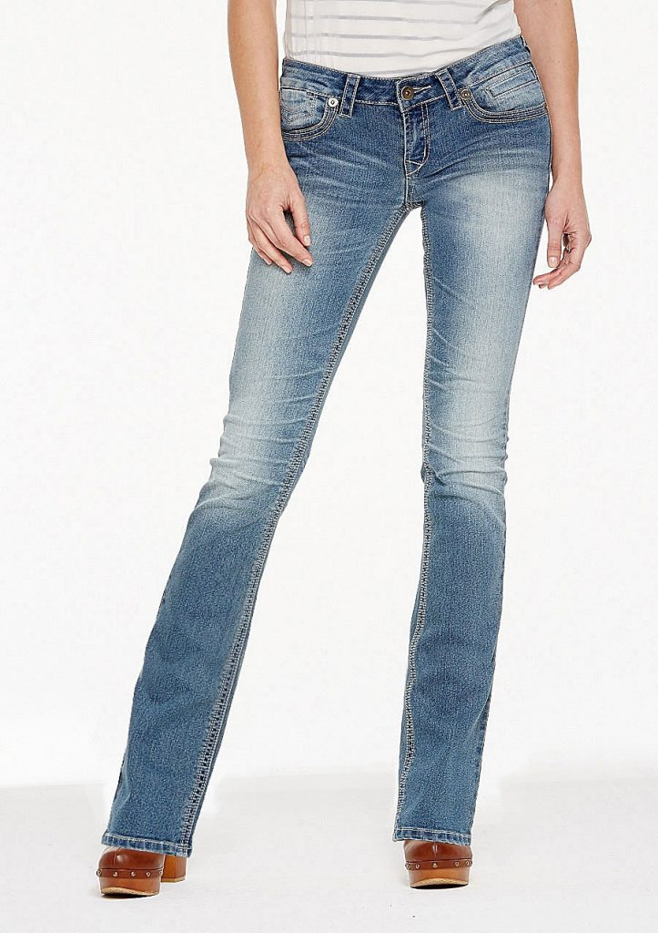 Best jeans for tall girls: Avery Bootcut Jean by Alloy