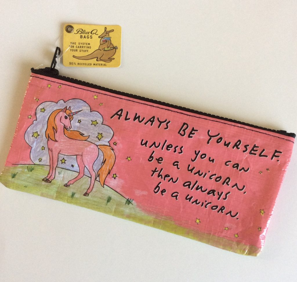 Always be a unicorn pencil pouch on Etsy at a great price! | back to school shopping 2017