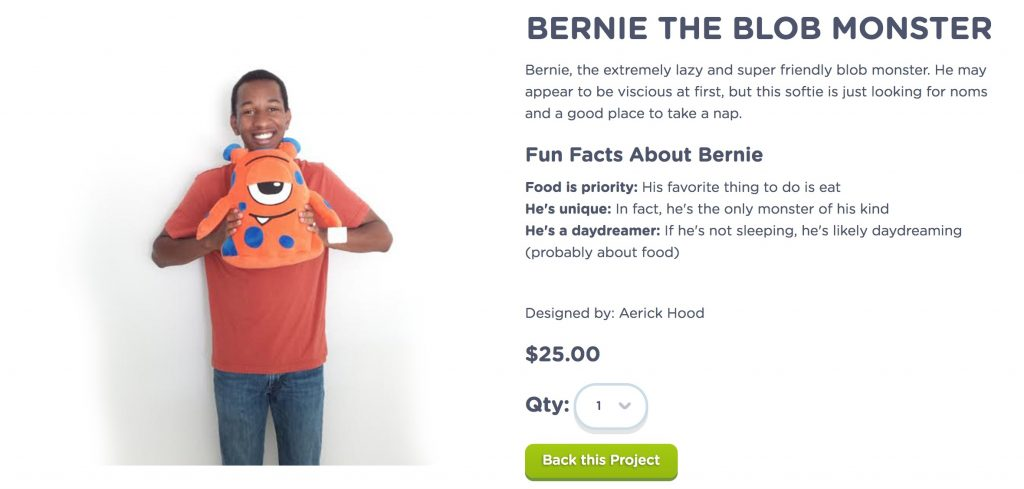 Your kids can create and sell their own stuffed creatures for fundraisers with Budsies. Amazing site!