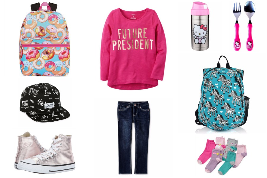 Cool back-to-school gear for preschoolers at JCPenney