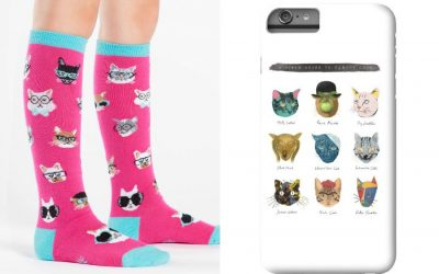 Hot trend: 15 hipster cat accessories and school supplies