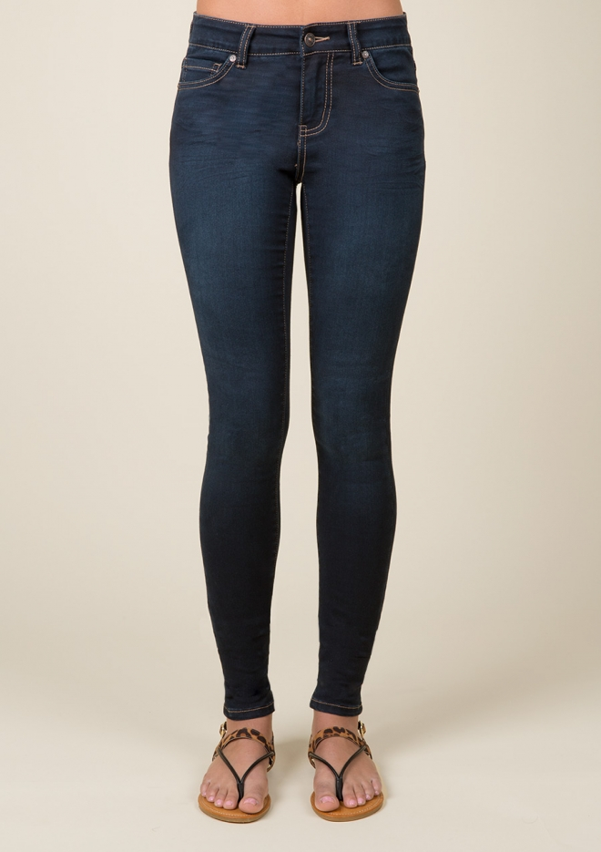Best jeans for tall girls: Olivia Dark Indigo Jean at Delia's
