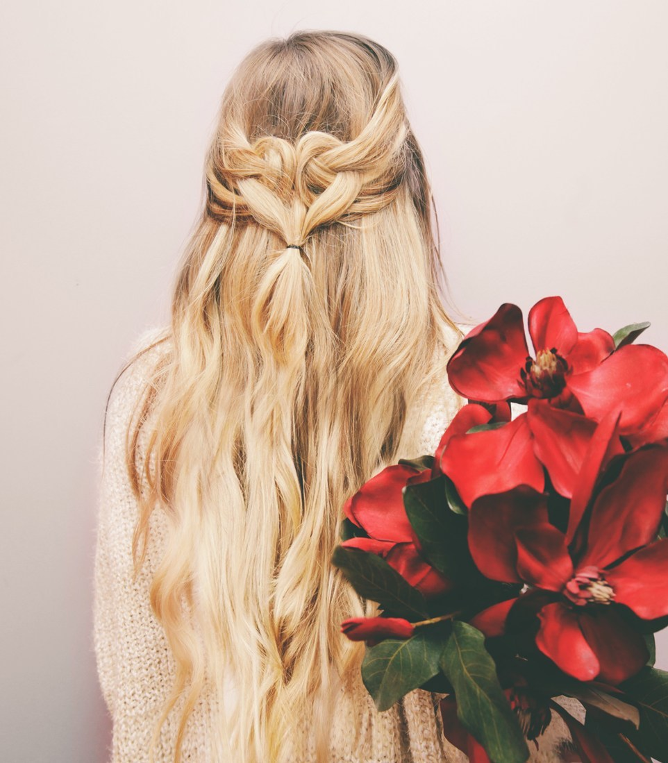 Hair braiding tutorials: Heart Loop at Kassinka