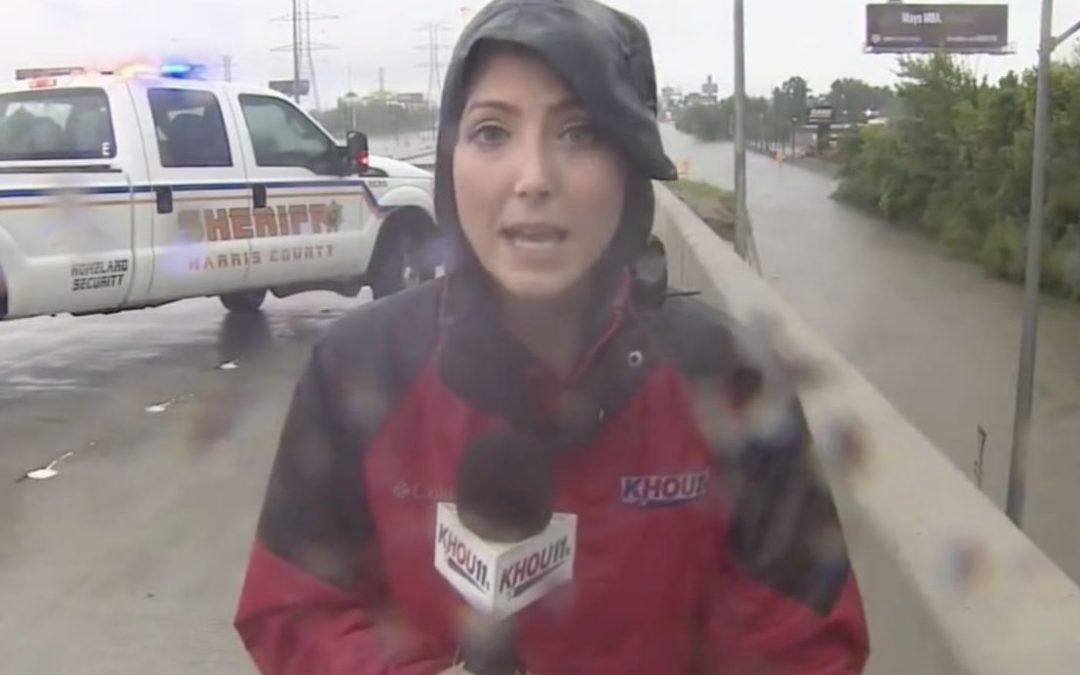4 times (so far) journalists have been the lifesaving heroes of the Hurricane Harvey flooding.