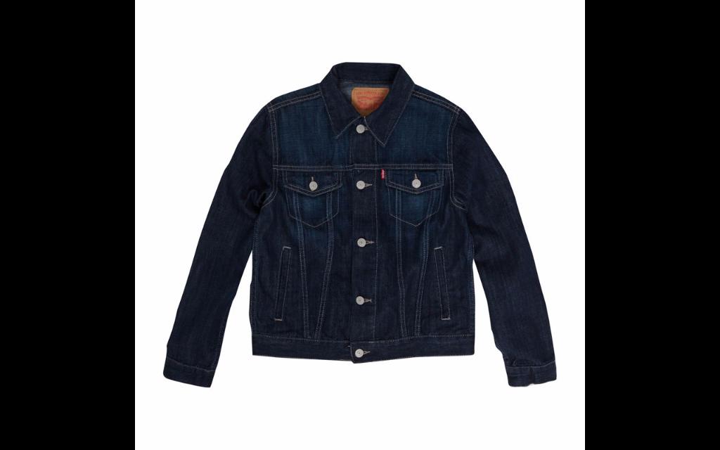 Levis trucker denim jacket   affordable back to school gear   cool mom picks
